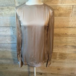 H&M long-sleeved blouse in size 2